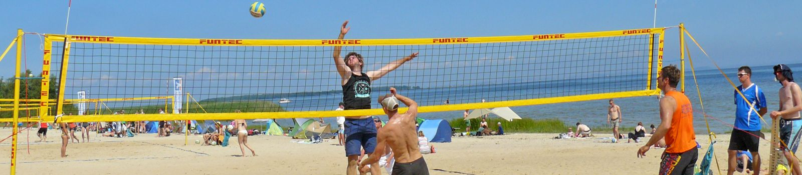 Beachvolleyball-Turnier in Freest